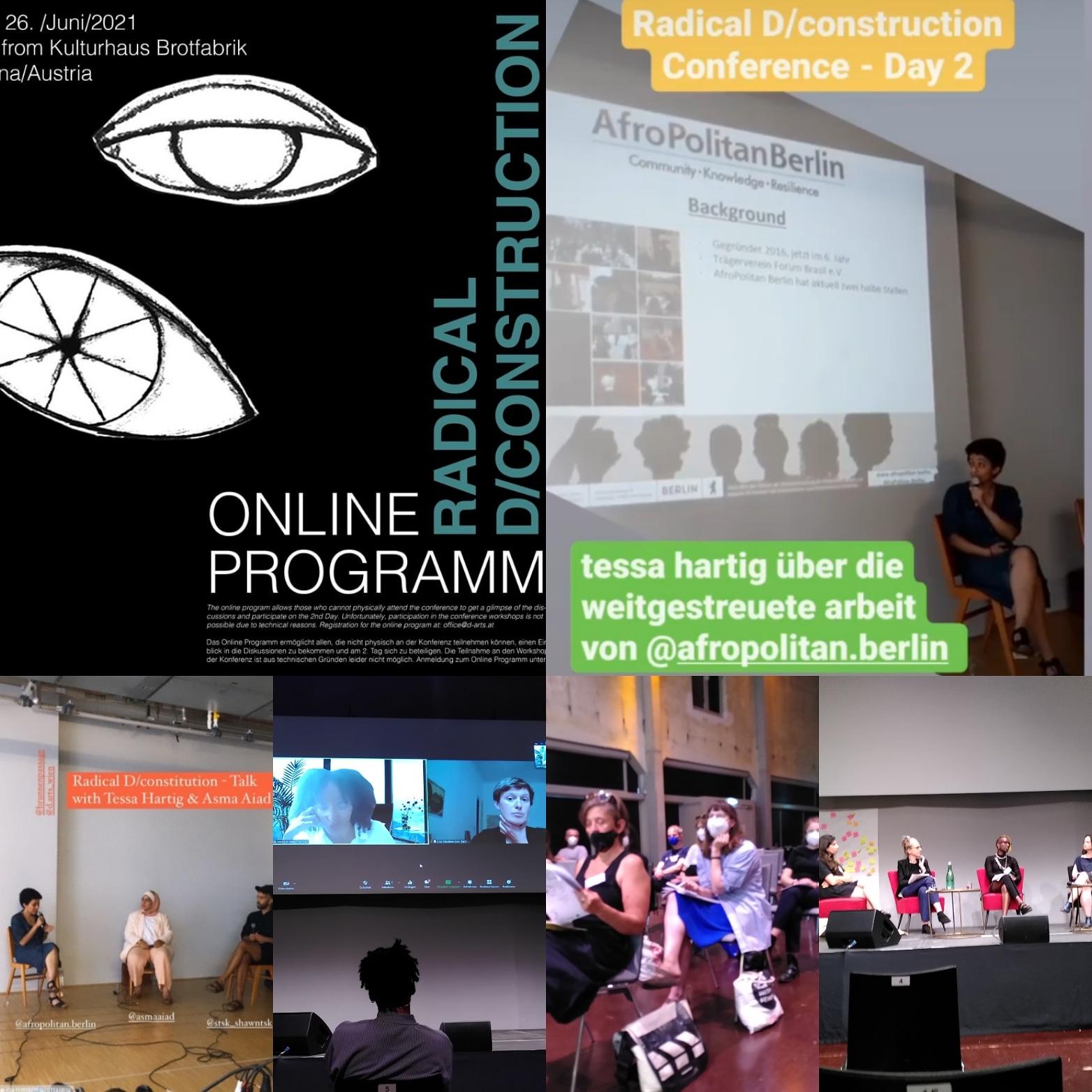 Radical D/Construction Konferenz in Wien