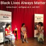 Black Lives Always Matter